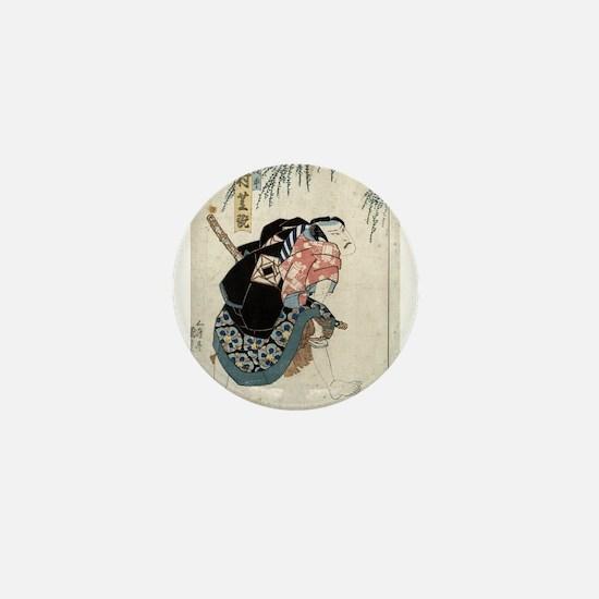 Nakamura Shikan - Toyokuni Utagawa - 1830 Mini But