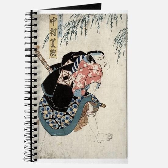 Nakamura Shikan - Toyokuni Utagawa - 1830 Journal