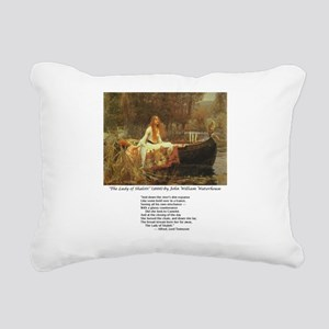 waterhouseshalott Rectangular Canvas Pillow