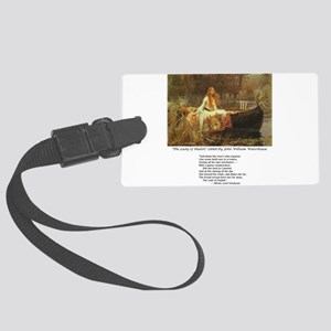 waterhouseshalott Large Luggage Tag