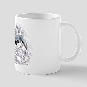 Great Cinereous Shrike Bird Mug