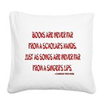 chineseproverb2.png Square Canvas Pillow
