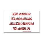 chineseproverb2.png Rectangle Car Magnet