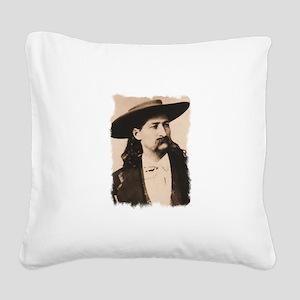 Wild-Bill-5 Square Canvas Pillow