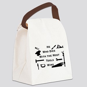 Most Tools Canvas Lunch Bag