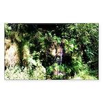 Island Forest Sticker (Rectangle 10 pk)