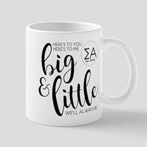 Sigma Alpha Big Little Personali 11 oz Ceramic Mug