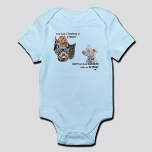 Save the Pitbull Infant Bodysuit