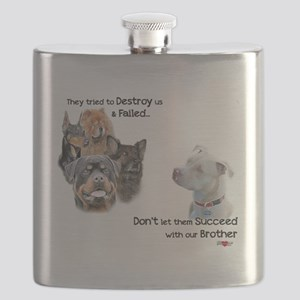 Save the Pitbull Flask