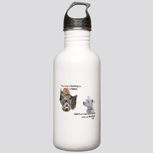 Save the Pitbull Stainless Water Bottle 1.0L