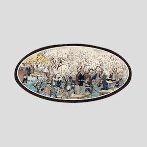 Plum Estate - Kameido - Hiroshige Ando - 1845 Patc