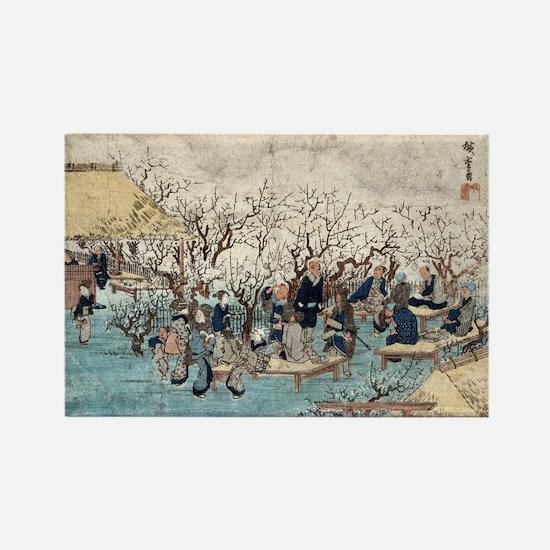 Plum Estate - Kameido - Hiroshige Ando - 1845 Magn