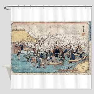 Plum Estate - Kameido - Hiroshige Ando - 1845 Show