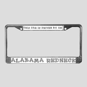 ALABAMA REDNECK License Plate Frame