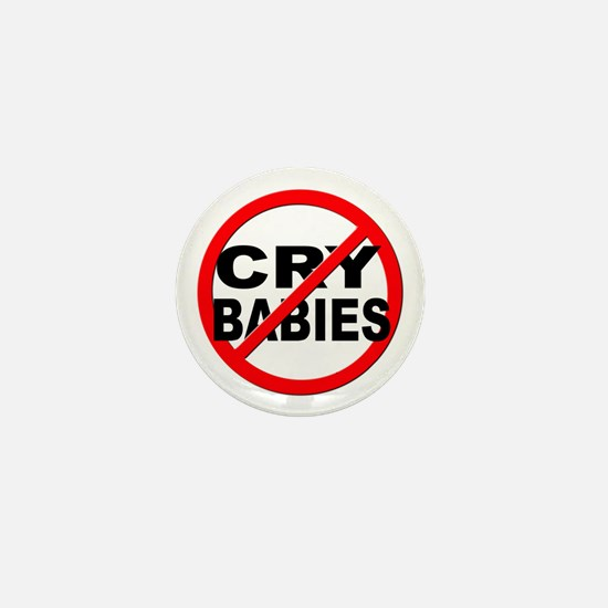Anti / No Cry Babies Mini Button