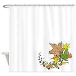 Autumn Leaves Shower Curtain