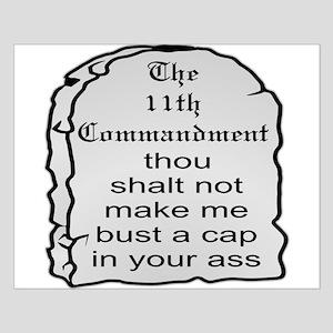 The 11th Commandment Small Poster