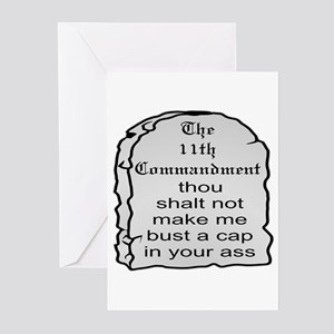 The 11th Commandment Greeting Cards (Pk of 20)