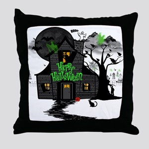 Halloween 2 Throw Pillow