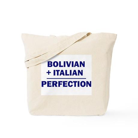 Italian + Bolivian Tote Bag