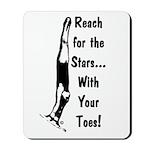 Gymnastics Mousepad - Stars