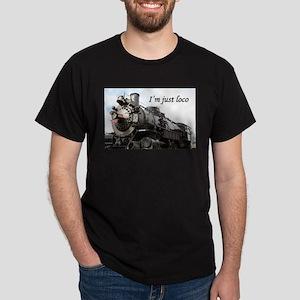 I'm just loco: Grand Canyon Railway Dark T-Shirt