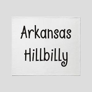 Arkansas Hillbilly Throw Blanket