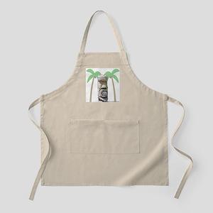 Tiki & Palm Trees BBQ Apron