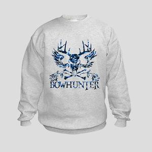GIRL BOWHUNTER Kids Sweatshirt