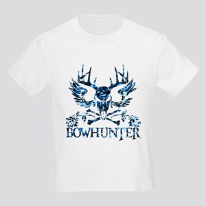 GIRL BOWHUNTER Kids Light T-Shirt