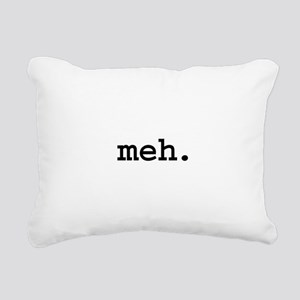 mehblk Rectangular Canvas Pillow