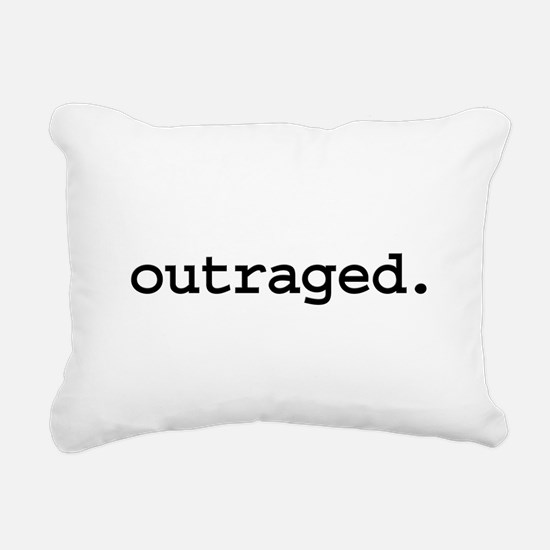 outraged.jpg Rectangular Canvas Pillow