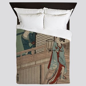 Secret love - Kokan Shiba - 1800 Queen Duvet