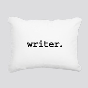 writer Rectangular Canvas Pillow