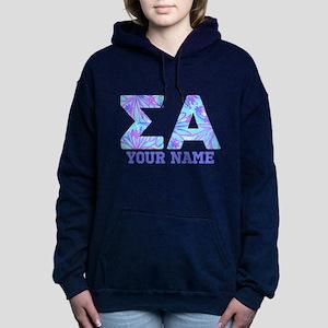 Sigma Alpha Tropical Per Women's Hooded Sweatshirt