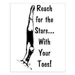 Gymnastics Poster - Stars
