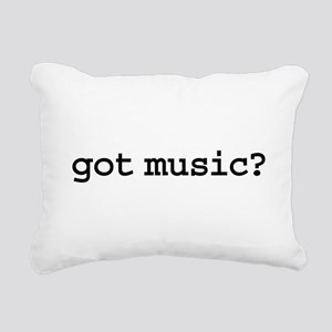 gotmusic Rectangular Canvas Pillow