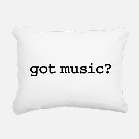 gotmusic.png Rectangular Canvas Pillow
