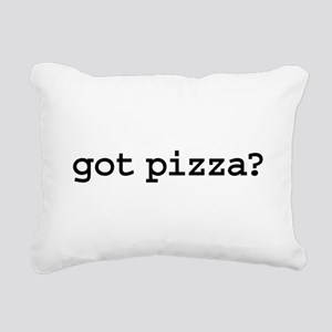 gotpizza Rectangular Canvas Pillow