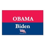 2-Candidates_Obama Biden Sticker (Rectangle 10 pk)