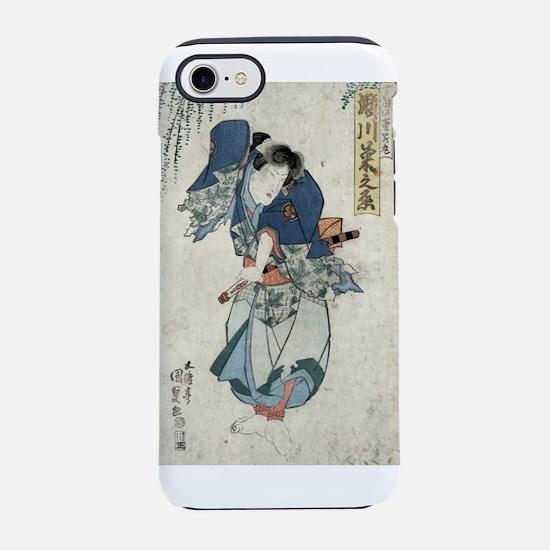 Segawa Kikunojo - Toyokuni Utagawa - 1830 iPhone 7