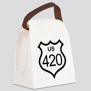 highway420 Canvas Lunch Bag