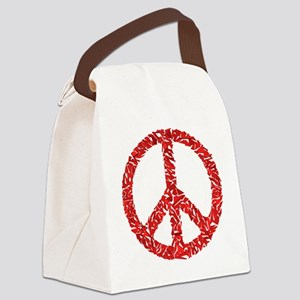 3-shatteredpeace Canvas Lunch Bag