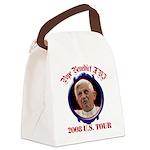 popebenedictustour08 Canvas Lunch Bag