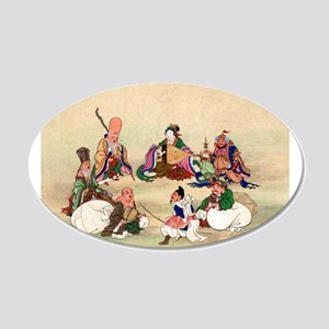 Seven gods of good luck - Anon - 1878 Wall Decal