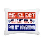 reelectclientno9gov4 Rectangular Canvas Pillow