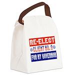 reelectclientno9gov4 Canvas Lunch Bag