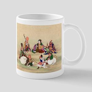Seven gods of good luck - Anon - 1878 Mugs