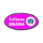 Latinas for Obama Pink Patches