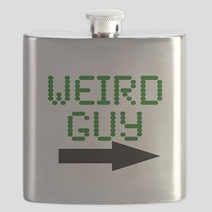 Weird Guy Flask